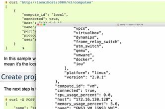 GNS3 Talks: GNS3 REST API Part 5: cURL and bash scripting