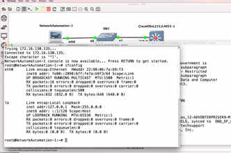 GNS3 Talks: Network Automation Docker Container (Part 2