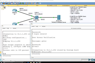 Cisco CCNA Packet Tracer Ultimate labs: AAA Lab  Answers Part 3