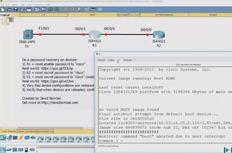 Cisco CCNA Packet Tracer Ultimate labs: Switch and Router