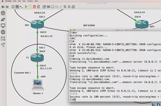 GNS3 Labs: Dynamic IPsec VPNs and NAT across BGP Internet